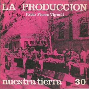 La producción / Pablo Fierro Fignoli - Publicaciones Periódicas del ...