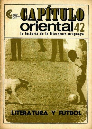 Nº 42 - Literatura y fútbol - Publicaciones Periódicas del Uruguay
