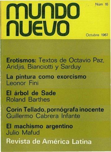 Nº 16 (oct. 1967) - Publicaciones Periódicas del Uruguay