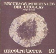 Recursos minerales del Uruguay / Jorge Bossi