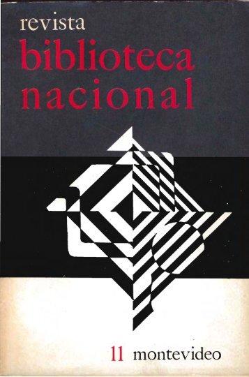 Nº 11 (oct. 1975) - Publicaciones Periódicas del Uruguay