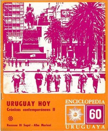 Nº 60 - Crónicas contemporáneas II - Uruguay hoy - Publicaciones ...