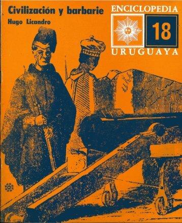 Nº 18 - Civilización y barbarie - Publicaciones Periódicas del Uruguay