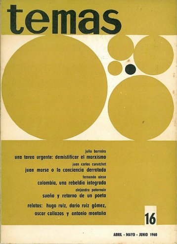 abr.-jun. 1968 - Publicaciones Periódicas del Uruguay