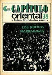 Nº 38 - Los nuevos narradores - Publicaciones Periódicas del ...