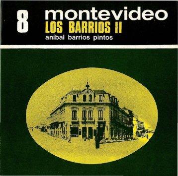 8. Montevideo : los barrios (II) - Publicaciones Periódicas del Uruguay