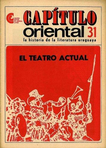 Nº 31 - El teatro actual - Publicaciones Periódicas del Uruguay