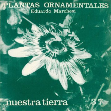 Nº 37 - Plantas ornamentales / Eduardo Marchesi - Publicaciones ...