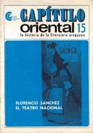 Florencio Sánchez, el teatro nacional - Publicaciones Periódicas del ...