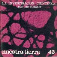 La investigación científica / José Luis Morador - Publicaciones ...