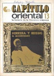 Nº 13 - Herrera y Reissig :el modernismo - Publicaciones Periódicas ...