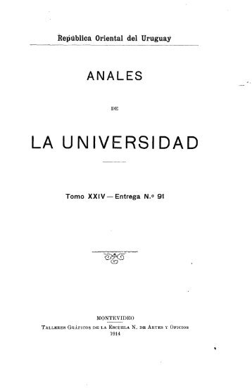 Año 19, t. 24, nº 91 (1914) - Publicaciones Periódicas del Uruguay