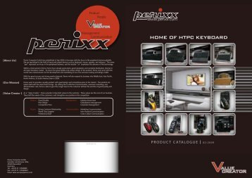 HOME OF HTPC KEYBOARD - Perixx