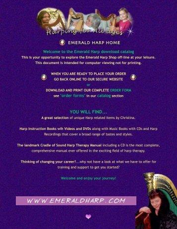 the Emerald Harp download catalog - Tourin, Tina