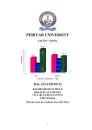 B Sc Costume Design And Fashion Periyar University