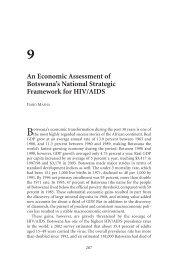 The Macroeconomics of HIV/AIDS -- Chapter 9: An Economic ... - IMF