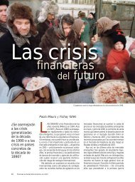 Las crisis financieras del futuro - Paolo Mauro y Yishay Yafeh ... - IMF
