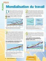 Pleins feux - La mondialisation du travail - Finances ... - IMF