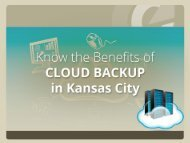 Top Benefits of Cloud Backup in Kansas City