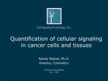 Quantification of cellular signaling - PerkinElmer