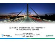 Application of Label-Free Assay Technology in Drug ... - PerkinElmer