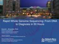 Rapid Whole Genome Sequencing: From DNA to ... - PerkinElmer