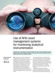 PerkinElmer OneSource - Use of RFID asset management systems ...