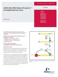 LANCE Ultra EZH2 Histone H3-Lysine 27 N ... - PerkinElmer