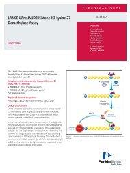 LANCE Ultra JMJD3 Histone H3-Lysine 27 ... - PerkinElmer