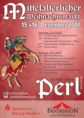 15.+16. Dezember 2007 - Perl