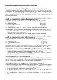 Gemeinderatssitzung vom 14. Dezember 2012 - Perl