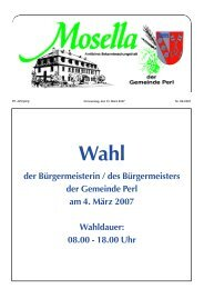 Wahl - Perl