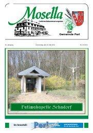 Fatimakapelle Sehndorf - Perl