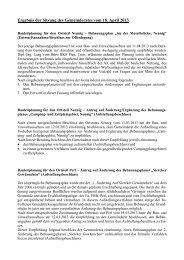 Gemeinderatssitzung vom 18. April 2013 - Perl