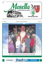 Mosella vom 05. Dezember 2013 Nr. 49/2013 - Perl
