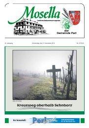Kreuzweg oberhalb Sehndorf - Perl