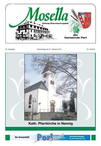Kath. Pfarrkirche in Nennig - Perl