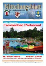 Endlich Badesaison - Perlesreut