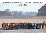 international permaculture conference - Permacultuur Nederland