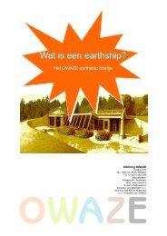 Wat is een earthship - Owaze.pub - Permacultuur Nederland