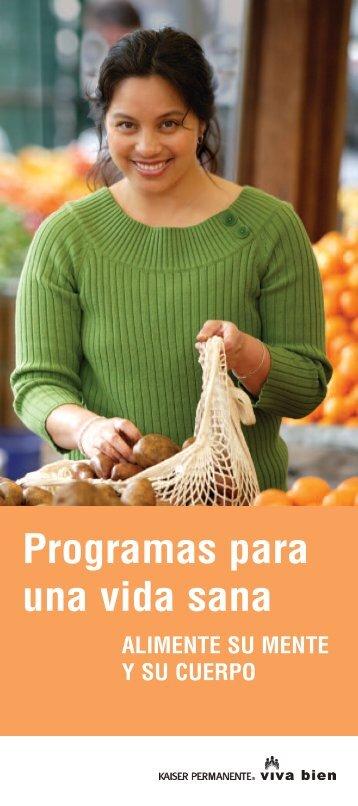 Programas para una vida sana de Kaiser ... - permanente.net