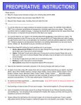 Pre-Admission Instructions English - permanente.net - Page 5