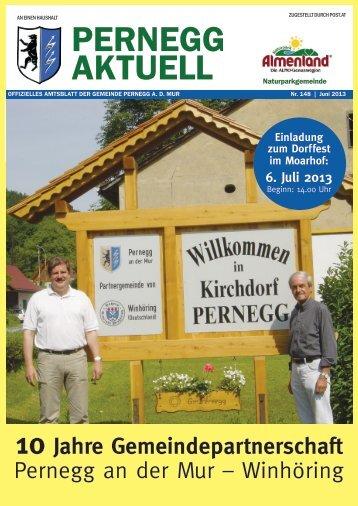 Juni 2013 - Gemeinde Pernegg
