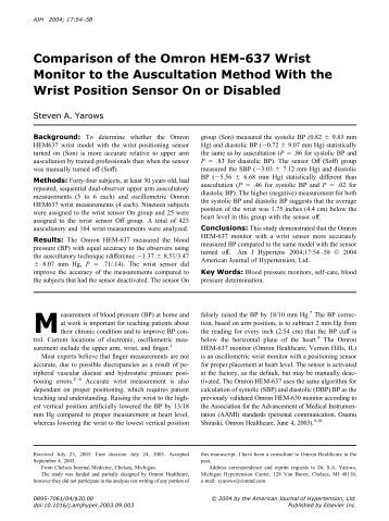 dableducational devices Dableducationalorg - essential information on validation of blood pressure measurement devices / monitors / sphygmomanometers.
