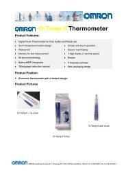 O-Temp Thermometer O-Temp II Thermometer