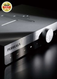 Review : Perreaux Audiant 80i Integrated Amplifier : Audio Art
