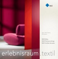 MHZ Infobroschüre erlebnisraum.textil - perrucci.ch