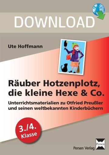 Räuber Hotzenplotz, die kleine Hexe & Co. - Persen Verlag