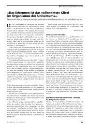 PDF: Das Erkennen ist das vollendetste Glied im Organismus des ...