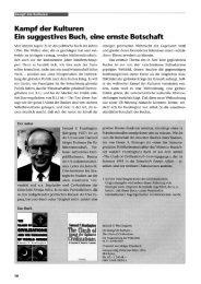 PDF Kampf der Kulturen – Ein suggestives Buch, eine ernste Botschaft